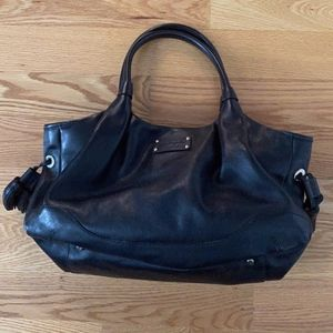 The Perfect Kate Spade Black Leather Bag